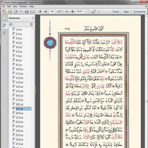 Ahmed Hüsrev Efendi'nin hattı ile yazılmış Kuran'i Kerim'dir.  Ahmed Hüsrev Hattı Kuran İndir İndirmek için sağ tıklayıp farklı kaydet demeniz yeterlidir.